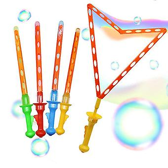 Large Bubble Western Sword Shape Bubble Sticks Kids Soap Bubble Outdoor Toy