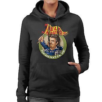 Animal House Delta House som pojke är en gris Kvinnor & apos, s Hooded Sweatshirt