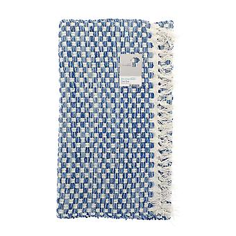 Country Club Checkered Rug, Blue