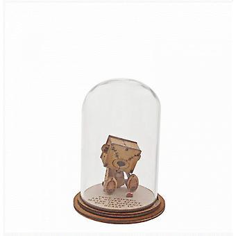 Statuetta di Vera Amicizia (Piccolo Orso di Legno)