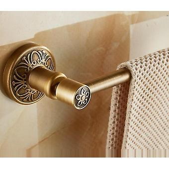 Single Towel Holder Bar, Solid Aluminium,antique Brass Finish