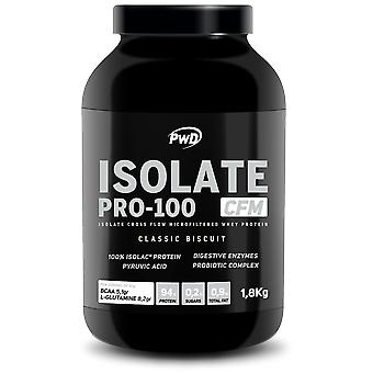 PWD Nutrition Isolate Pro-100 Maria Biscuit 1.8 Kg