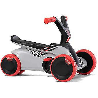 BERG GO2 2-in-1 Pedal Go Kart SparX Red Baby and Toddler Go Kart Ride and Pedal