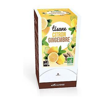 Lemon Ginger Herbal Tea 20 units