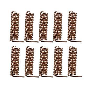 10x Wireless Helical Antenna Copper Spring Antenna 470MHz 19.5mmx5.7mm