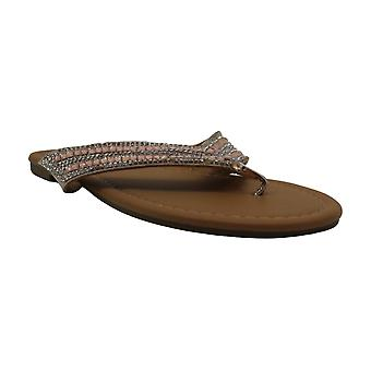 Olivia Miller Ladies Peel & Stick Thong Sandal