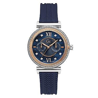 GC Y76004L1MF Starlight Blue Strap Wristwatch