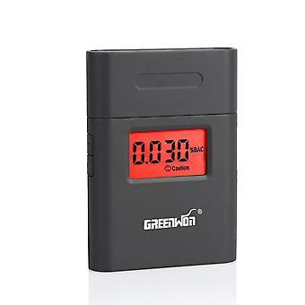 Prefessional bärbara andetag alkoholanalysator Digital Breathalyzer Tester