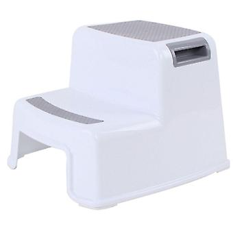 Multifunctional Pedestal Thick Step Stool For Toilet