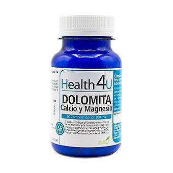 Dolomite calcium and magnesium 60 tablets