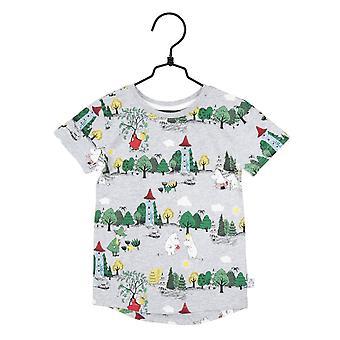 Moomin Moomin Valley T-shirt (Grijs)