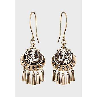 Kalevala Earring Women's Moon goddess Bronze 3603032K
