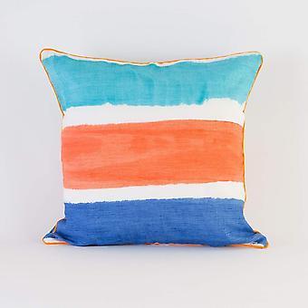 Stripe Coral Cushion/pillow