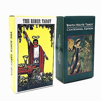 Hot Full English Radiant Rider Wait Tarot Cards Factory Made High Quality Smith