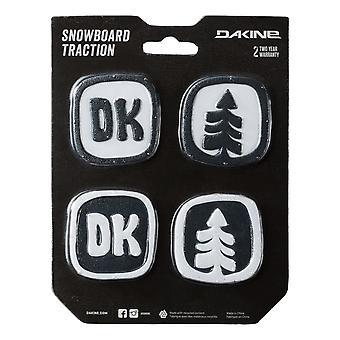 داكين DK النقاط ستومب منصات - أسود / أبيض