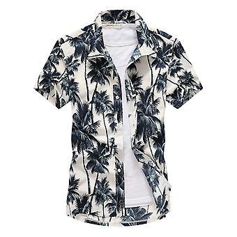 أزياء قصيرة كم سريع التجفيف بالإضافة إلى حجم عارضة الأزهار شاطئ القمصان