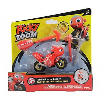 Ricky Zoom Ricky & Rescue Cannon Vehicle & Action Accessory Set