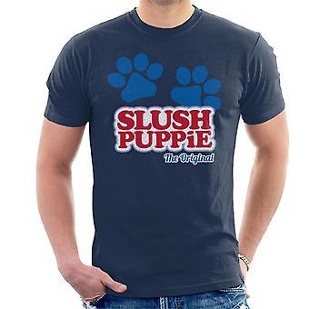 Slush Puppie Paws Logo The Original Men's T-Shirt