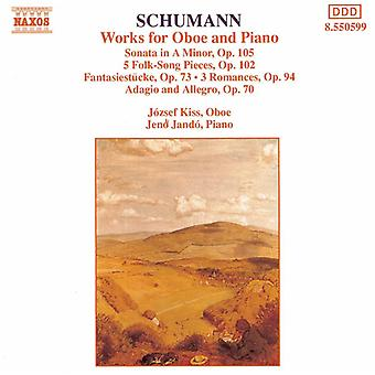 R. Schumann - Schumann: Works for Oboe and Piano [CD] USA import