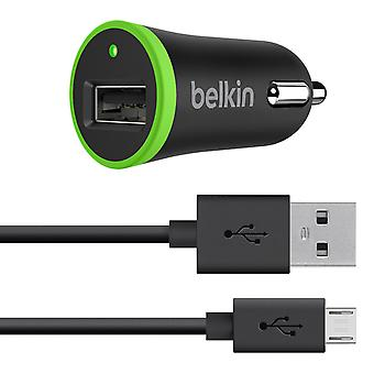 Belkin Universal Car Charger with Micro USB ChargeSync Cable (10 Watt/ 2.1 Amp)