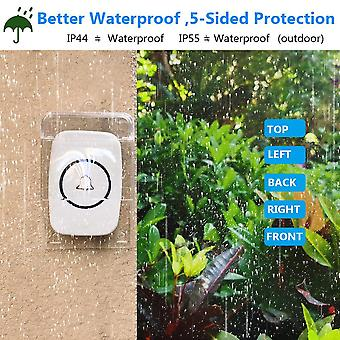 Waterproof Cover For Wireless Tough Smart Doorbell Ring Chime Button