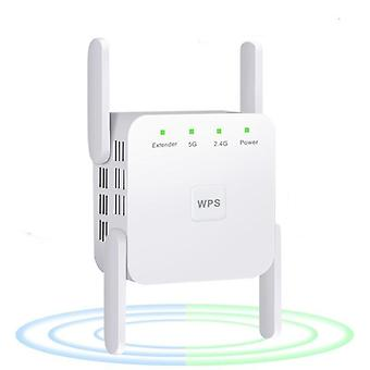 Wireless Wifi Repeater/booster 2.4g/5ghz / Amplifier 300/1200 M Signal, Long