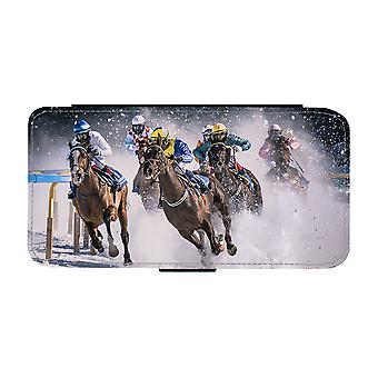 Paardenrace iPhone 11 Portemonnee Hoesje