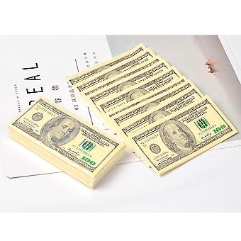 Us Dollar Napkin Bill Papier Handtuch Party Tricky