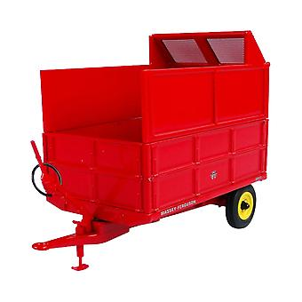 Massey Ferguson MF21 3.5 Ton Hydraulic Tipping Trailer with Silage Extension Sides Diecast Model