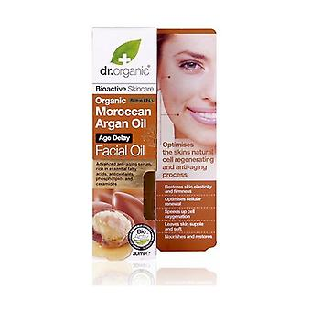 Organic Moroccan Argan Facial Oil 30 ml of oil