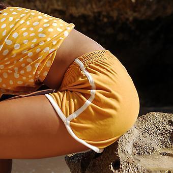Mädchen Seaside Runner Recycling Shorts, In Sonnenblume gelb