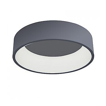 Lámpara De Techo Chiara Gris Moderna