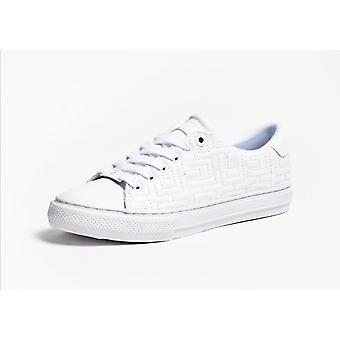 Shoes Women's Sneaker Guess Mod. Goldenn Ecopelle Quilted White D21gu71