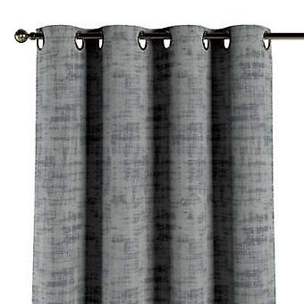Eyescarf, grijs, 130 × 260 cm, Fluweel, 704-32