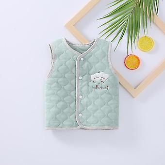 Baby Inverno Caldo Gilet Cotone Neonato Autunno Vestiti