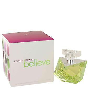 Acredito que o Eau De Parfum Spray por Britney Spears 1,7 oz Eau De Parfum Spray
