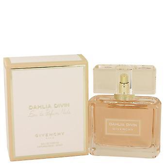 Dahlia Divin nøgen Eau De Parfum Spray af Givenchy 2.5 oz Eau De Parfum Spray