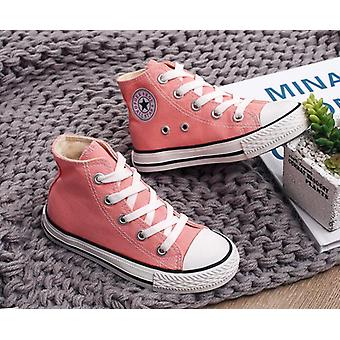Breathable Canvas Shoes, Casual Child Flat Sneakers