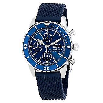 Breitling Superocean Heritage II Chronograph Automatic Blue Dial Men's Watch A13313161C1S1