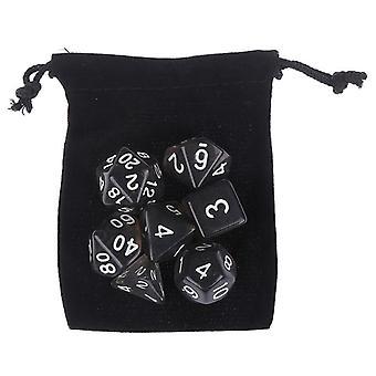Ensemble de dés polyèdres pour les jeux de table