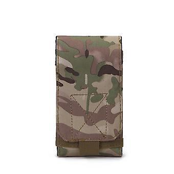 Outdoor Camouflage Bag, Tactical Army Phone Holder, Sport Waist Belt Case,