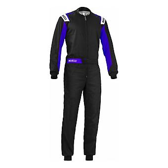 Racing jumpsuit Sparco Rookie Zwart/Blauw/XL
