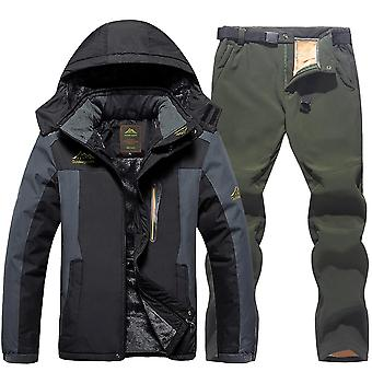 Fleece Coat Trousers Ski Suit