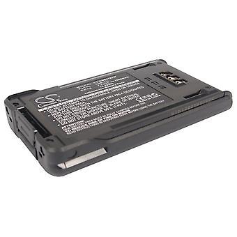 Battery for KENWOOD KNB-47L KNB-48L KNB-50NC NX-200 NX-300 TK-2180 TK-3320 1.8Ah