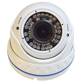 PNI 1001CM videoövervakningskamera, varifocal lins, 1000 TVL 960H pt. interiör och exteriör IR 30 m