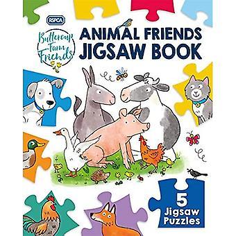 RSPCA Buttercup Farm Friends: Animal Friends Jigsaw Book