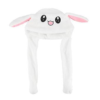 Kani Naisten hattu beanie pehmo voi liikkuva pupun korvat hattu shine earflaps.