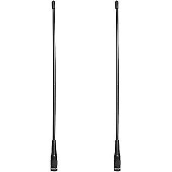 FengChun RHD771 Funkgerät Antenna SMA-M Dual Band UHF/VHF Antenne Kompatibel mit Walkie Talkie RT1