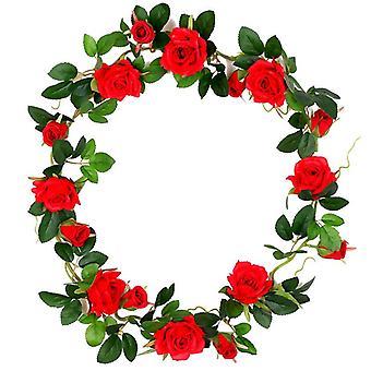 5個の人工花乾燥花偽の花