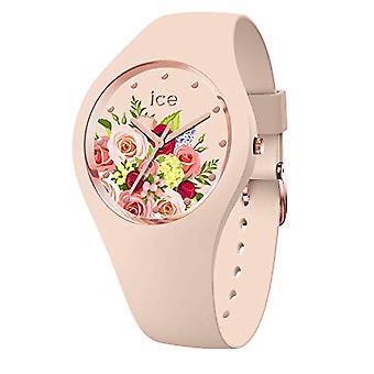 Ice-Watch - Jääkukka vaaleanpunainen kimppu - Naisten kello silikonihihnalla - 017583, Keskikokoinen, Pinkki